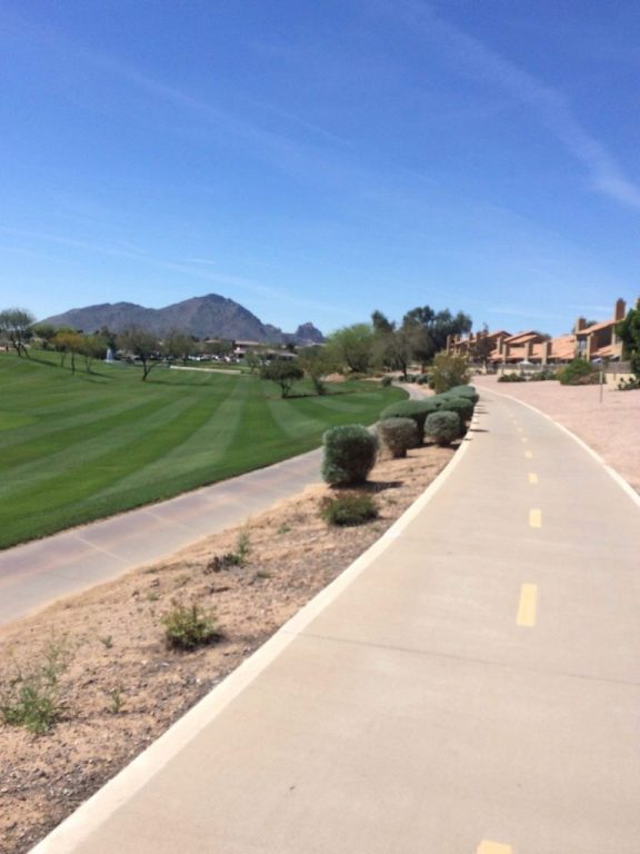 Scottsdale bike to Fountain Hills