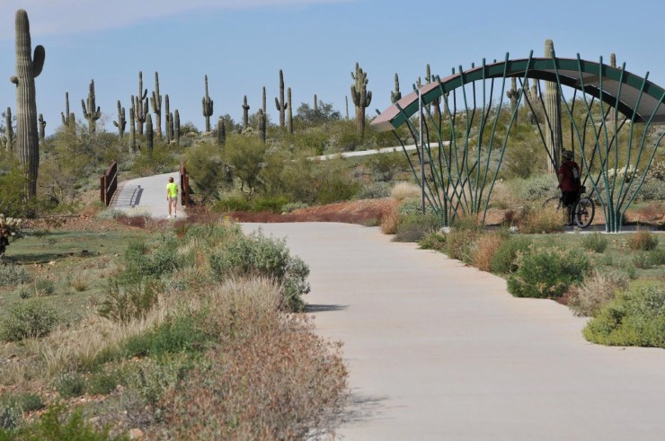 Best Cycling Routes in Scottsdale - East Sonoran Desert Bike Path