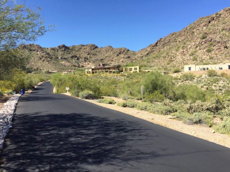 Mummy Mountain - Scottsdale Cycling Route