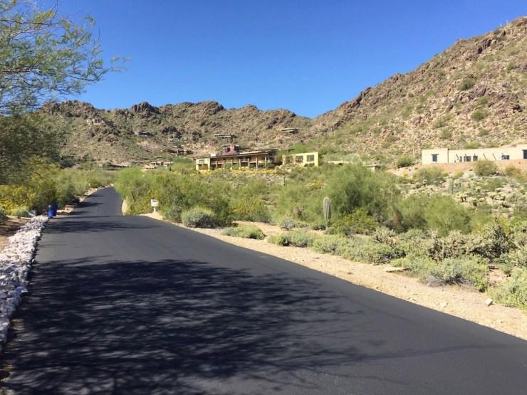 Mummy Mountain - Scottsdale Cycling Route