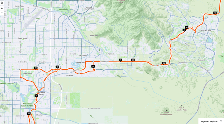 Scottsdale Best Cycling - Fountain Hills