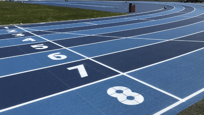 Pista atletismo icono , Entrena atletismo en Mallorca , Athletics track in Mallorca