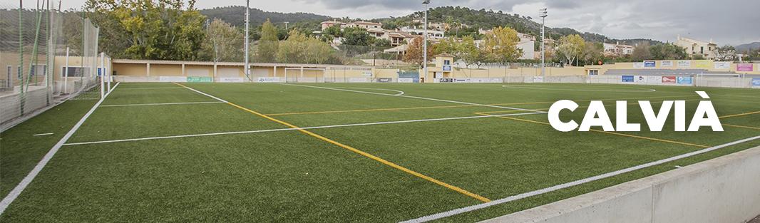 Campo de fútbol de Calvià. Entrenar fútbol en Mallorca. Entrenar futbol a Mallorca