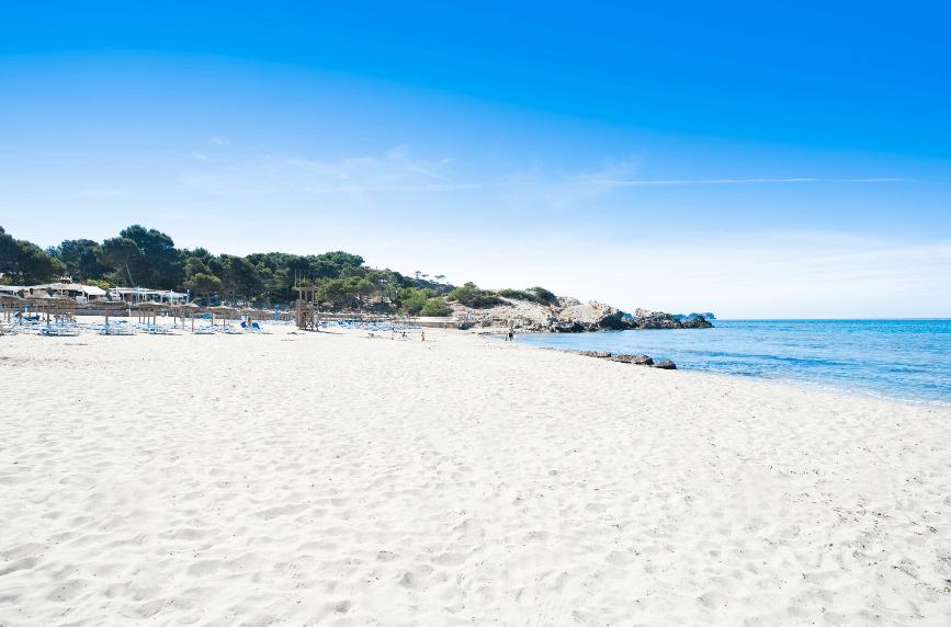 Peguera sus playas, La Romana beach in Peguera