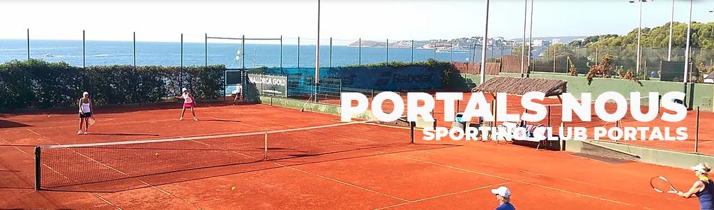 Tennis courts in Majorca , Pistas de tenis en Mallorca, Juega al tenis en Mallorca , Portals Tennis club