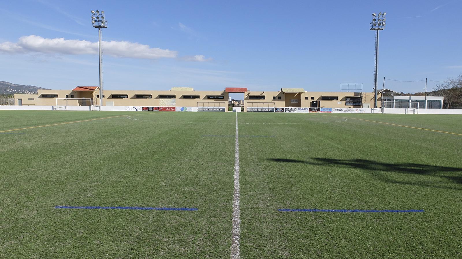 Entrenar fútbol en Mallorca. Son Ferrer - Futbol
