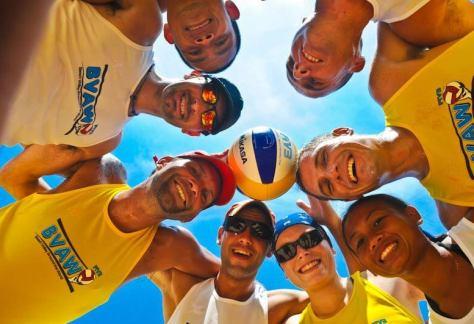Campus beach volley around the world