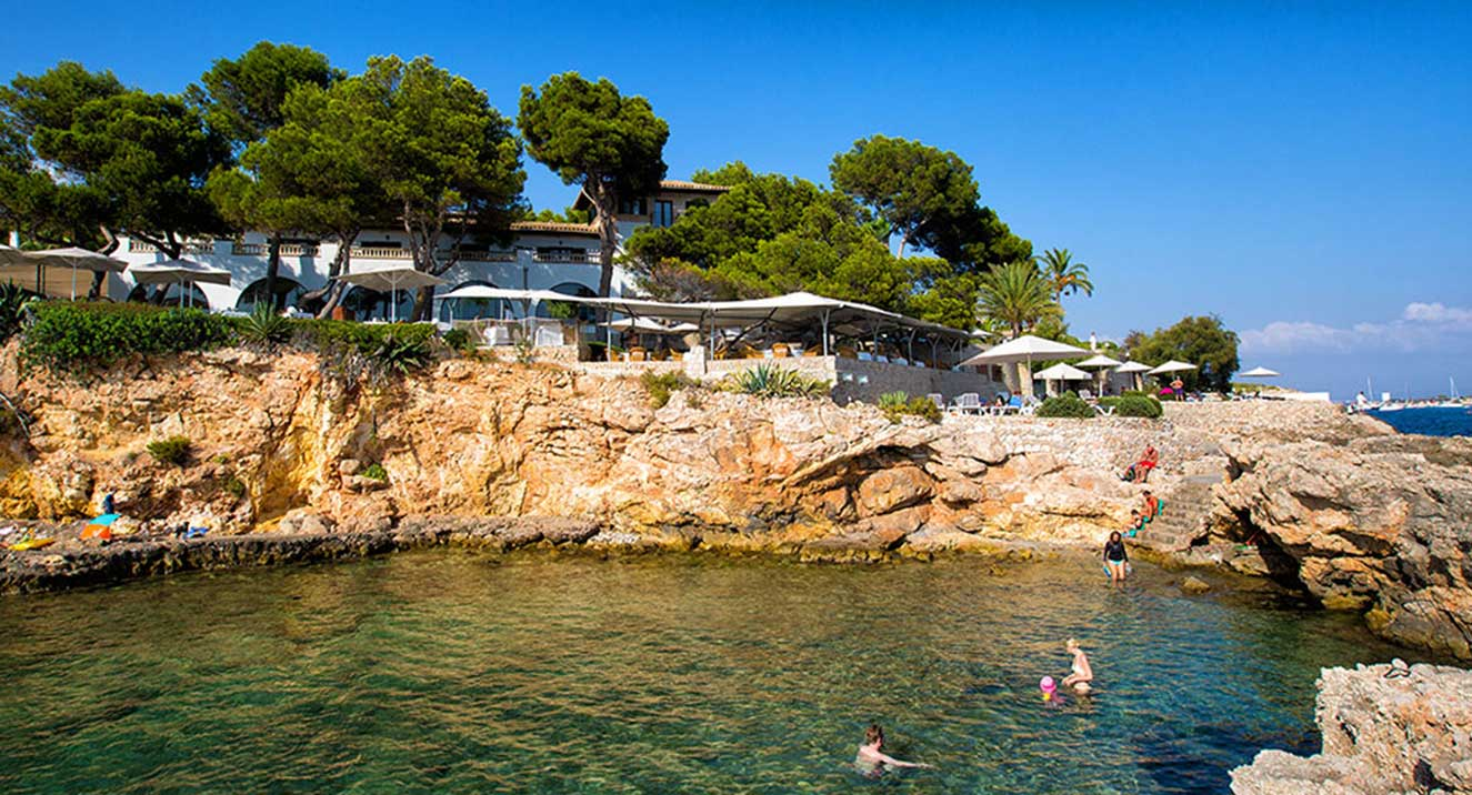 bendinat hotel, bendinat beach, bendinat playa, bendinat beach, Bendinat, Mallorca,