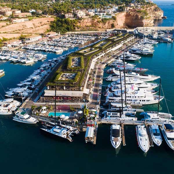 Port adriano puerto deportivo en calvià mallorca , Puertos deportivos de Mallorca , Ports esportius de Mallorca