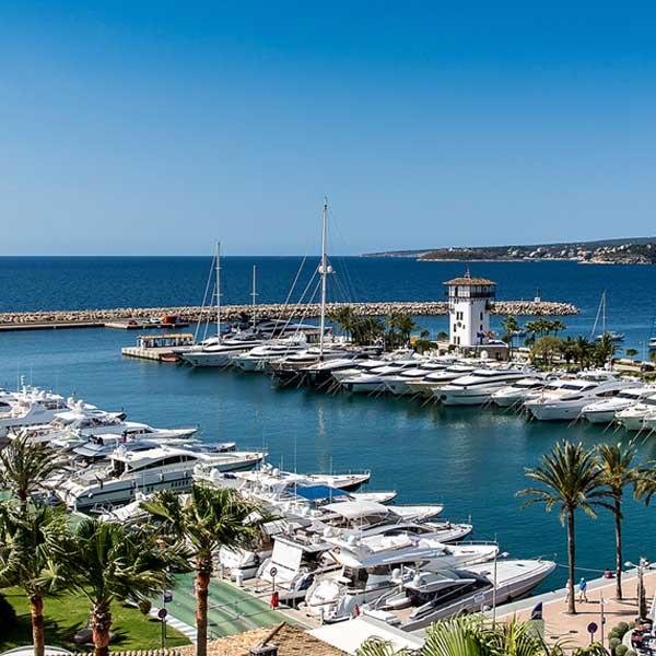 Puerto Portals Calvià Mallorca, puerto deportivo, Puertos deportivos de Mallorca , Ports esportius de Mallorca