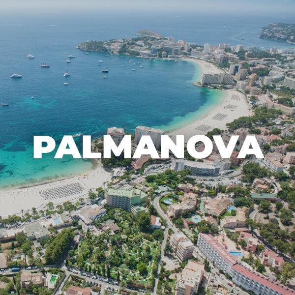 Zonas turísticas más importantes de Mallorca Palmanova, turismo familiar, family holidays in Mallorca