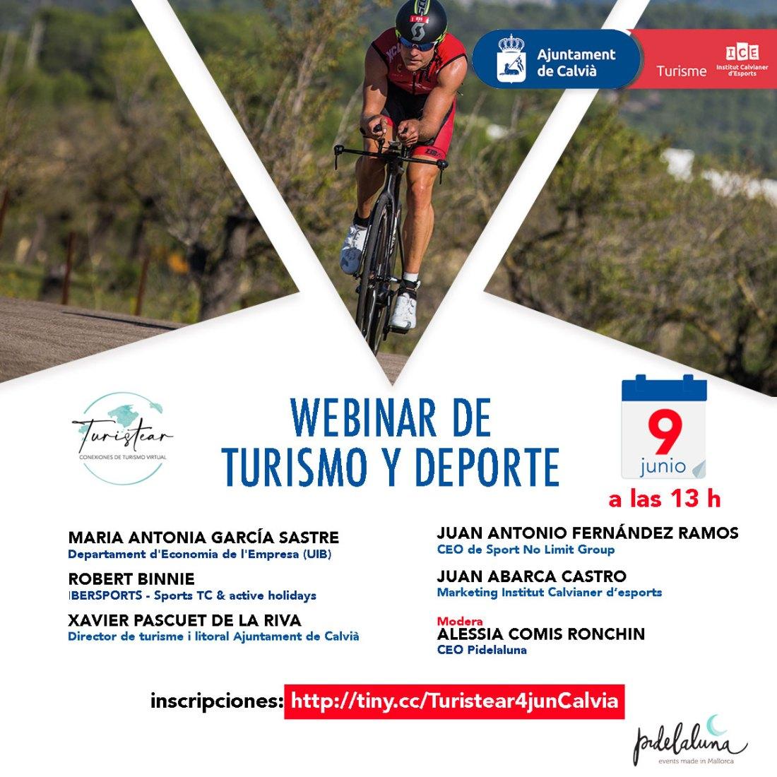 webinar de turismo y deporte en Mallorca