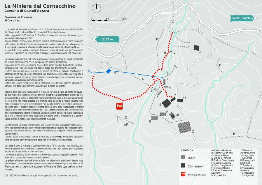 Le Miniere del Cornacchino-Castell'Azzara-Grosseto-Toscana-Italy