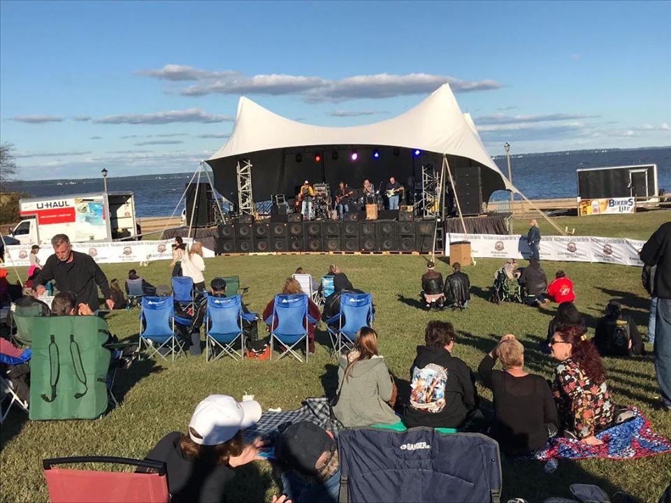 outdoor concert colonial beach