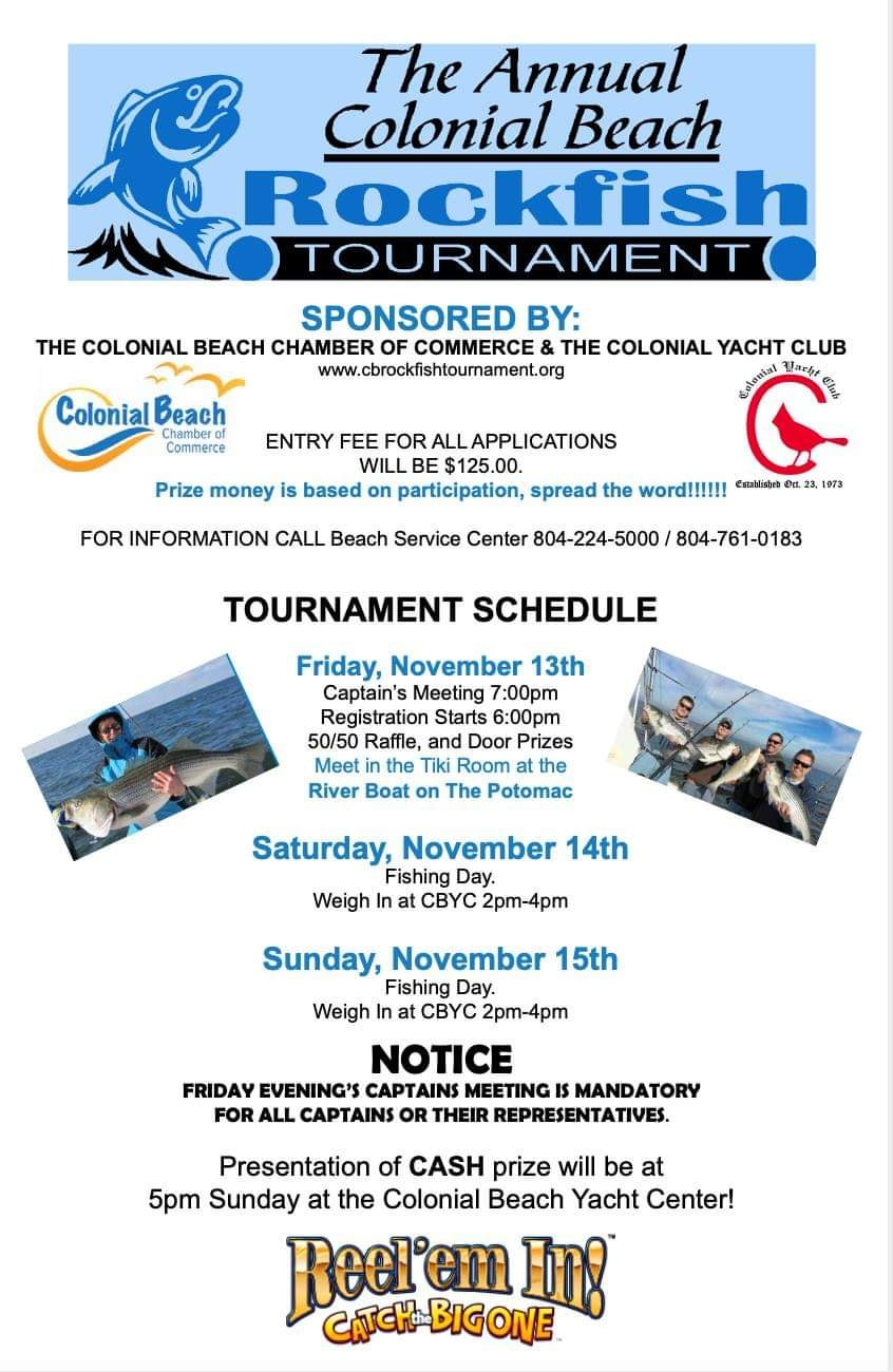 rockfish tournament colonial beach
