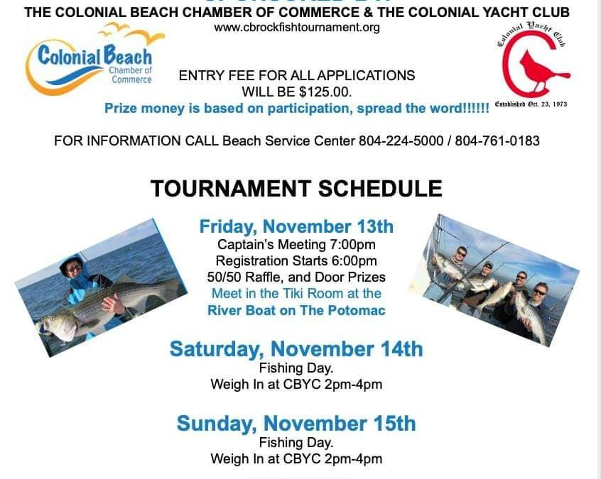Annual Fall Rockfish Tournament