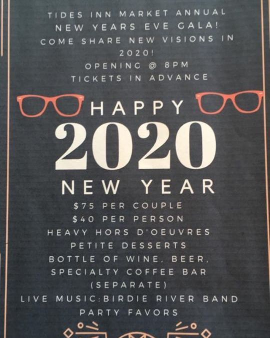 New Year's Eve at The Tides Inn Market