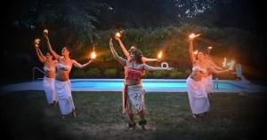 Colonial Beach event Hula & Fire Show