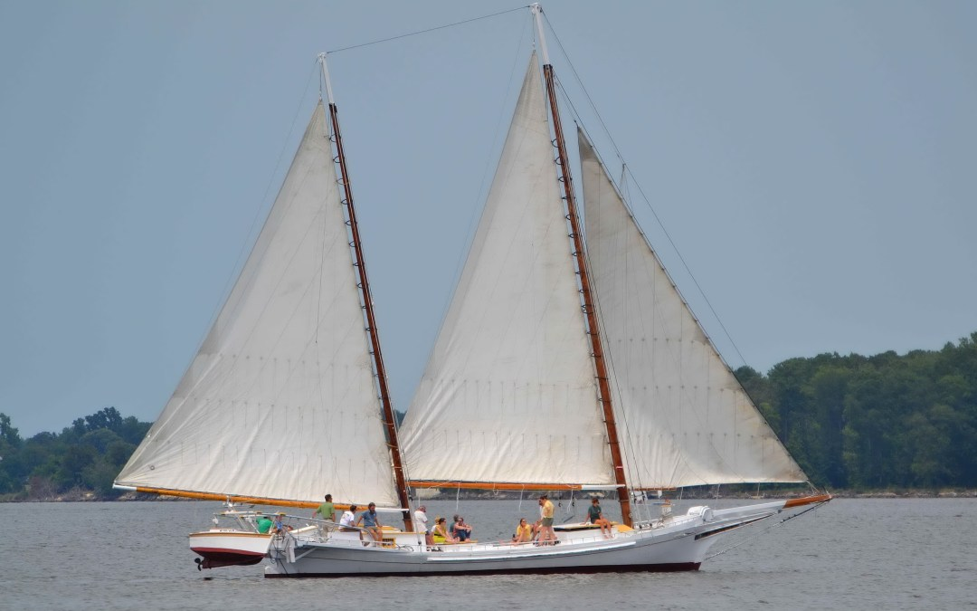 Historic Sailboat Edna Lockwood Coming to Colonial Beach Potomac River Festival