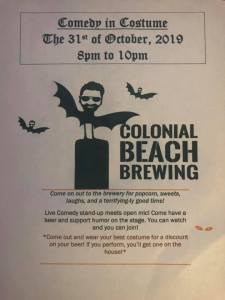 halloween colonial beach events