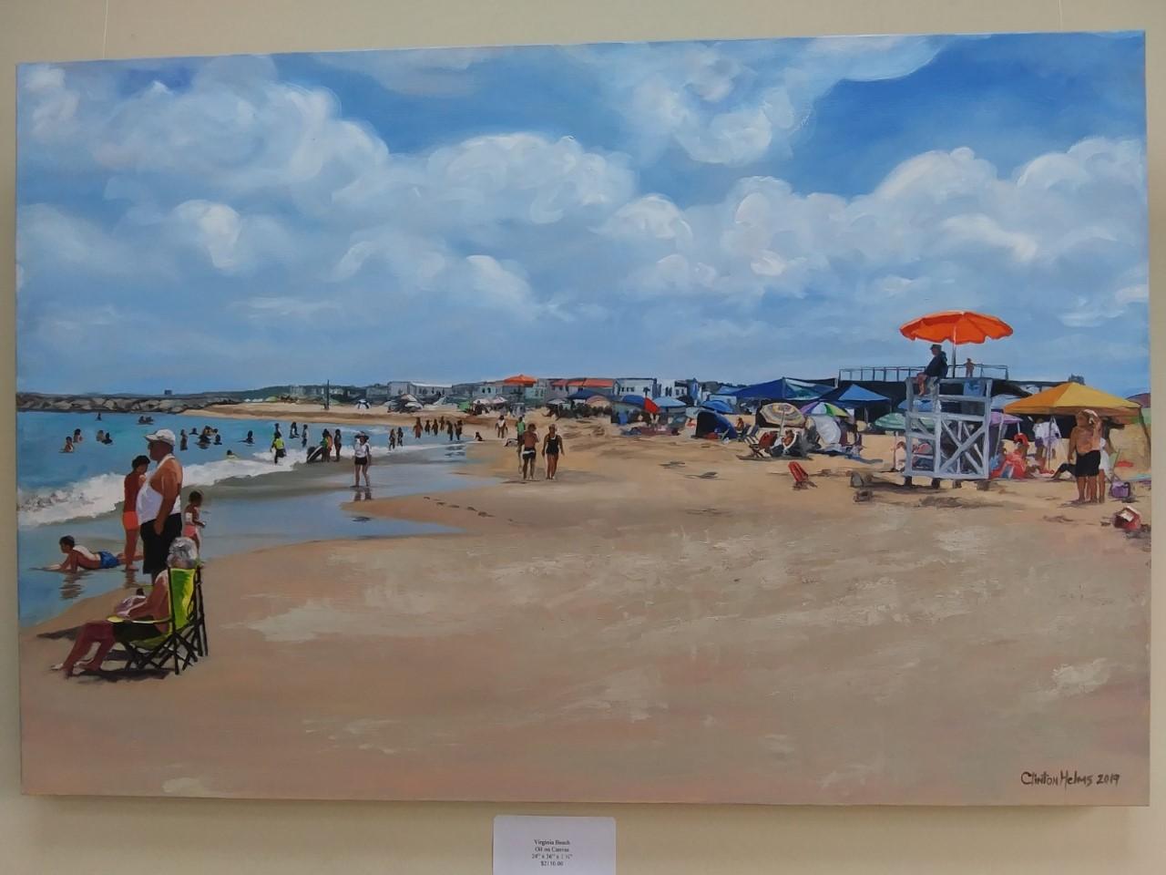 art show colonial beach