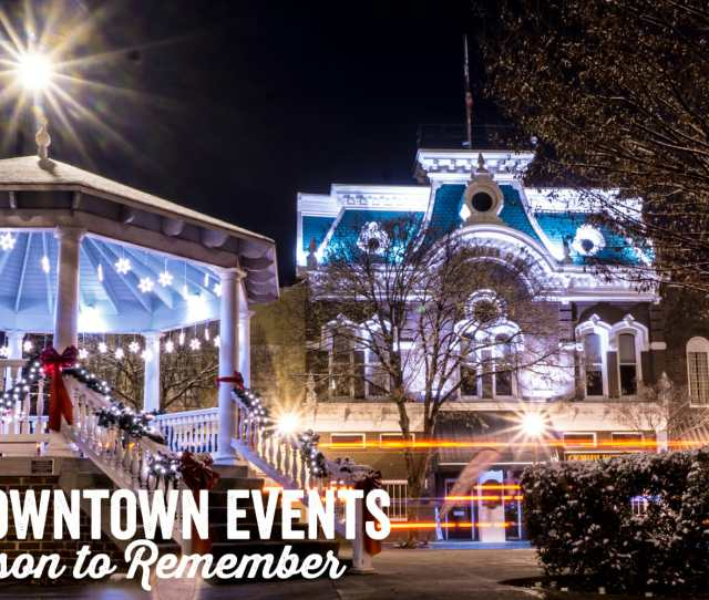 When Winter Arrives The Tree Lined Streets Of Historic Downtown Cleveland Are Illuminated With Giant Snowflakes And Much Cheer