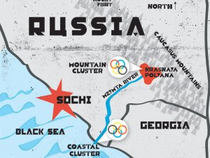 sochi map