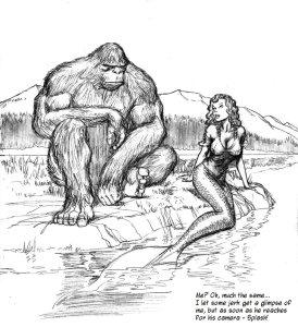 BigfootMermaidbyNickPerksDeviantart