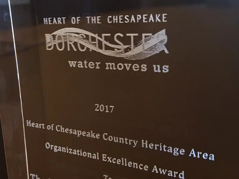 Heritage Area Awards