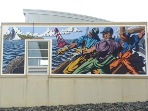 Dorchester County Visitor Center Mural by Michael Rosato