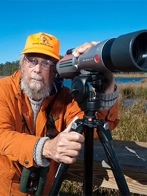 Harry Armistead, birder