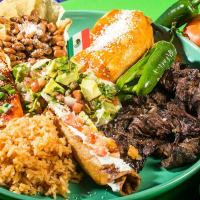 plate of food from Casa Ramos mexican restaurant