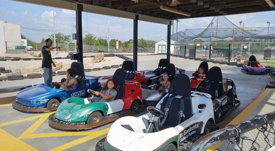 emporia family fun center go carts