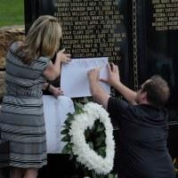 memorial to fallen educators