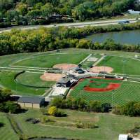 aerial view of trusler sports complex