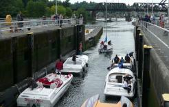 Ballard Locks: o elevador de embarcações
