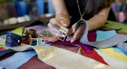 Handcrafted Fish Leather Jewelry