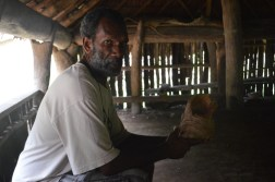 Sam Abel in a Nakamal