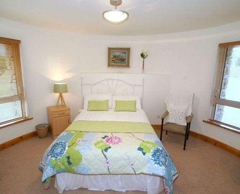 Golf Lodge at Portsalon Donegal - double bedroom