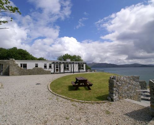 Golf Lodge at Portsalon Donegal - spectacular location