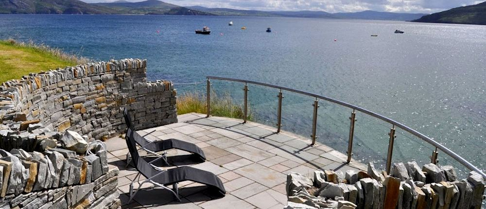 Golf Lodge at Portsalon Donegal - view from sun terrace