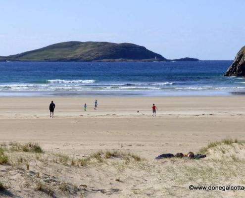 Ballywhoriskey House - beach at Portsalon