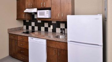 Kitchenette for long-term stay