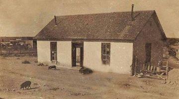 Grey Mule Saloon circa 1899