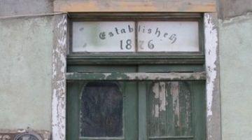 Young's Store Door