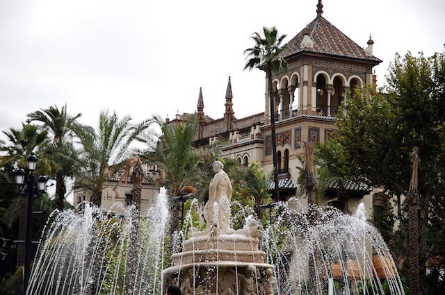 Seville fountain