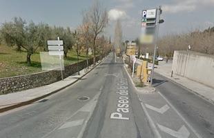 Alhambra parking Granada