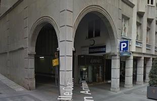 Ganivet parking Granada