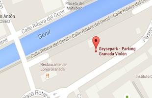 Granada Geysepark parking