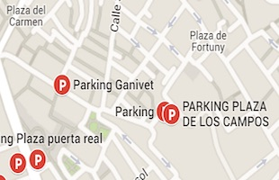 Parking plaza de los campos Granada